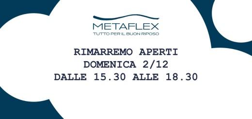 Metaflex apertura 2/12